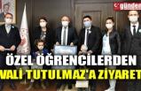 ÖZEL ÖĞRENCİLERDEN VALİ TUTULMAZ'A ZİYARET