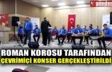 ROMAN KOROSU TARAFINDAN ÇEVRİMİÇİ KONSER GERÇEKLEŞTİRİLDİ