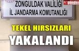 TEKEL HIRSIZLARI YAKALANDI