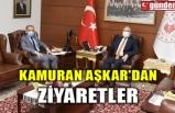 KAMURAN AŞKAR'DAN ZİYARETLER