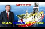 Başkan Erdoğan'dan 135 milyar metreküplük doğalgaz müjdesi  geldi