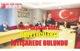 TİMEF BAŞKANI GÜREL, GAZETECİLERLE İSTİŞAREDE BULUNDU