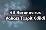 43 Koronavirüs Vakası Tespit Edildi