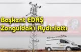 Başkent EDAŞ Zonguldak'ı Aydınlattı