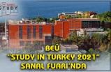 "BEÜ  ""STUDY İN TURKEY 2021"" SANAL FUARI'NDA"