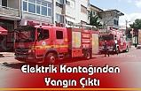 Elektrik Kontağından Yangın Çıktı