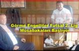 Görme Engelliler Futsal 2. Lig  Müsabakaları Başlıyor