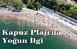 Kapuz Plajı'na Yoğun İlgi