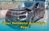 Ömer Halisdemir Bulvarı'nda Kaza!