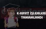 """""""TOPLAM 2 MİLYON 844 BİN 765 ÖĞRENCİNİN E-KAYIT İŞLEMİ TAMAMLANDI"""""""