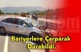 Trafik Kazası! 2'si Çocuk 4 Kişi Yaralandı.