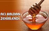 ACI BALDAN ZEHİRLENDİ