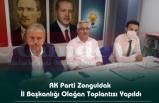 AK Parti Zonguldak İl Başkanlığı Olağan Toplantısı Yapıldı