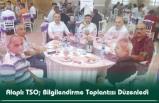 Alaplı TSO; Bilgilendirme Toplantısı Düzenledi
