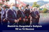 Atatürk'ün Zonguldak'a Gelişinin 90´ncı Yıl Dönümü
