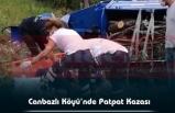 Canbazlı Köyü'nde Patpat Kazası