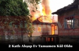 Canbazlı Köyünde Yangın