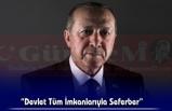 Cumhurbaşkanı Erdoğan, Sel Bölgelerinden Bilgi Aldı