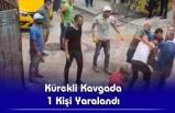 İşçilerle Taksiciler Arasında  Kavga Çıktı