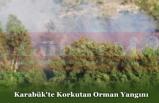 Karabük'te Korkutan Orman Yangını