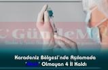 Karadeniz Bölgesi'nde Aşılamada 'Mavi' Olmayan 4 İl Kaldı