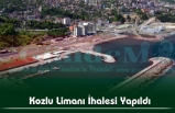 Kozlu Limanı İhalesi Yapıldı