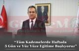Milli Eğitim Bakanı Mahmut Özer,  Açıkladı