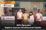 MYO Öğrencileri Stajlarını Çaycuma Havalimanında Yaptılar