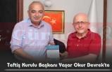 Teftiş Kurulu Başkanı Yaşar Okur Devrek'te