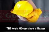 TTK Kozlu Müessesinde İş Kazası