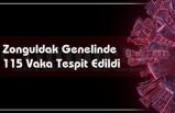 Zonguldak Genelinde 115 Vaka Tespit Edildi.