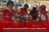 Zonguldak Kızılay gönüllüleri Yangın Bölgesinde