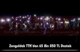 Zonguldak TTK'dan 65 Bin 850 TL Destek