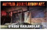 ALEVLER GECEYİ AYDINLATTI!