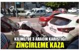 KİLİMLİ'DE 3 ARACIN KARIŞTIĞI ZİNCİRLEME KAZA!