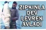 ZIPKINLA 11 KİLOLUK DEV LEVREK AVLADI!