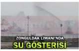 ZONGULDAK LİMANI'NDA SU GÖSTERİSİ