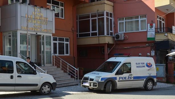 Alaplı´da çelik kasa hırsızları polisten kaçamadı