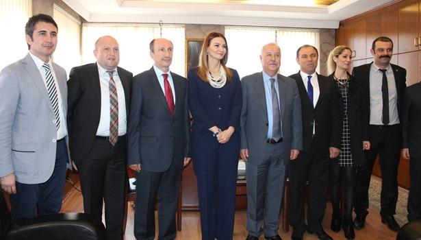 Azeri milletvekili Paşayeva Başkan Akdemir´i ziyaret etti