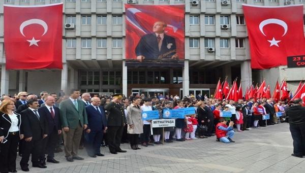 Zonguldak'ta  23 Nisan Coşkuyla kutlandı