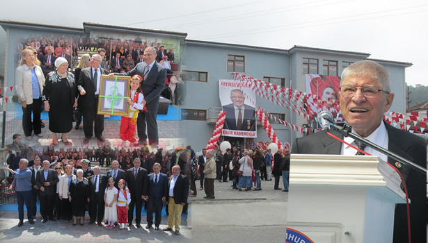 Hayırsever iş adamı Kameroğlu,Helallik istedi; 'okul yapın' dedi…