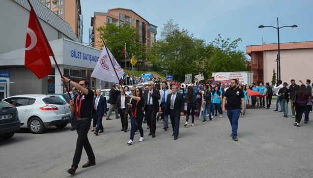BEܒde 22. Uluslararası Bilim ve Gençlik Haftası şenlikleri başladı
