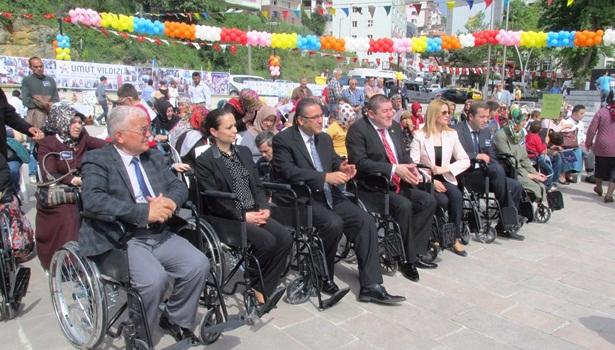 Alaplı´da Engelliler Haftası kutlanmaya başlandı