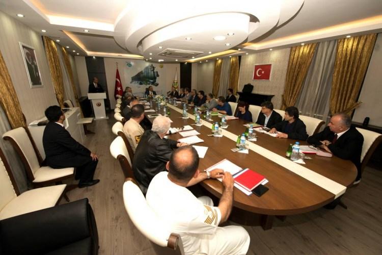 Vali Kaban başkanlığında gerçekleştirildi
