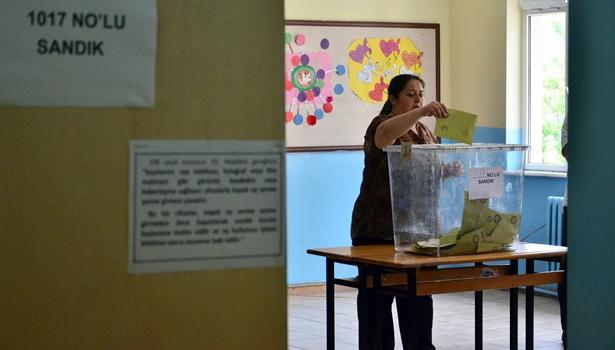 İki mahallede yapılan seçimle muhtar adayları belirlendi