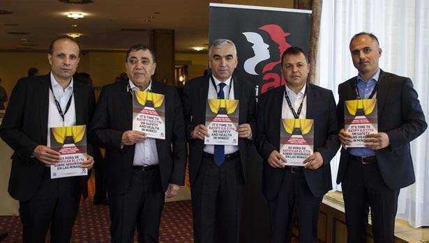 Genel Maden-İş, Dünya madencilik konferansı'na katıldı