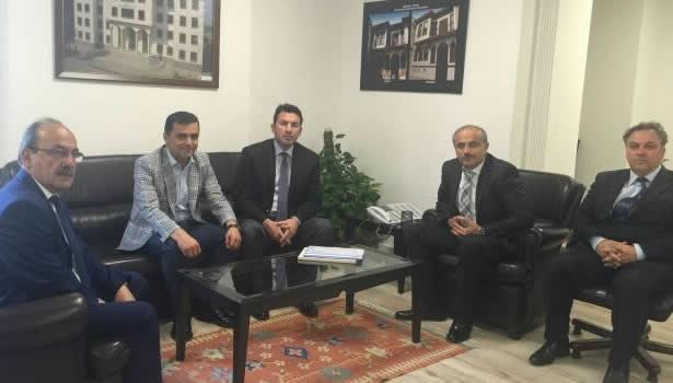 Ulupınar, TOKİ Başkan Yardımcısı ile görüştü