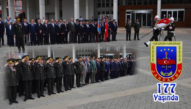 jandarma teşkilatının 177. kuruluş yıldönümü kutlandı