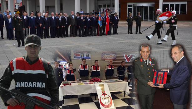 Jandarma Teşkilatının 177.yılı çeşitli etkinlikle kutlanıyor