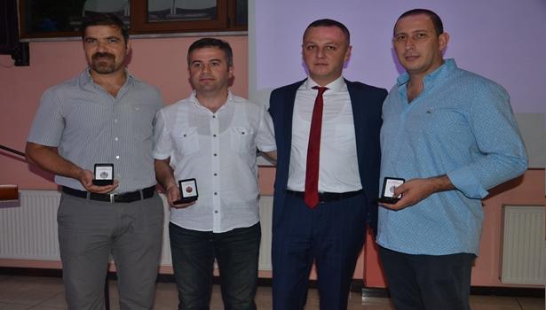 Kızılay'dan 387 gönüllüye madalya